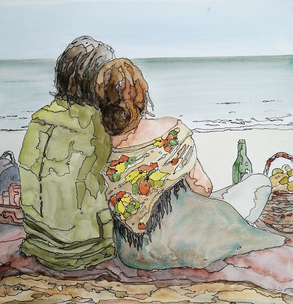 Cornish Beach Picnic